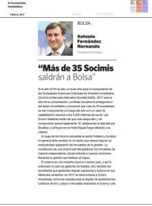 """""""Más de 35 Socimis saldrán a Bolsa"""""""