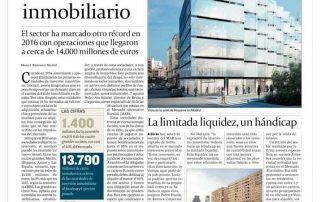 Las SOCIMI impulsoras del mercado inmobiliario